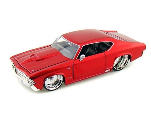 Chevrolet: Chevelle SS (1969) - Vermelho - 1:24