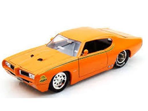 Pontiac: GTO Judge (1969) - Laranja - Bigtime Muscle 1:24