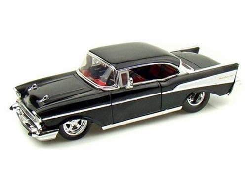 Chevrolet: Bel Air (1957) - Preto - 1:24