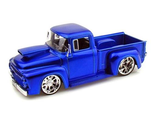Ford: F-100 (1956) - Azul - 1:24