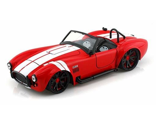 Ford: Shelby Cobra 427 S/C (1965) - Vermelho - 1:24 - Jada