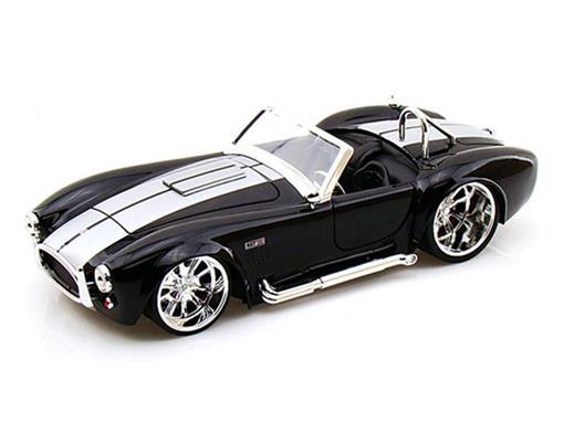 Ford: Shelby Cobra 427 S/C (1965) - Preto - 1:24