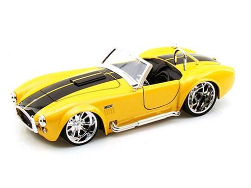 Ford: Shelby Cobra 427 S/C (1965) - Amarelo - 1:24