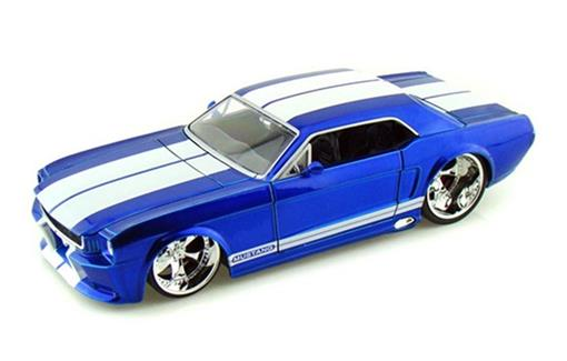 Ford: Mustang (1965) - Azul - 1:24