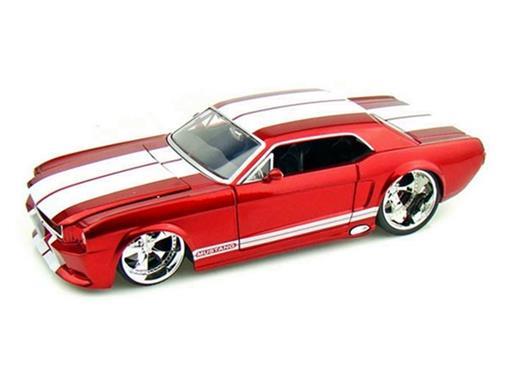 Ford: Mustang (1965) - Vermelho - 1:24