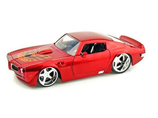 Pontiac: Trans AM (1972) - Vermelho - 1:24