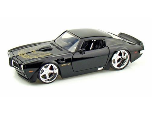 Pontiac: Trans Am (1972) - Preto -  1:24