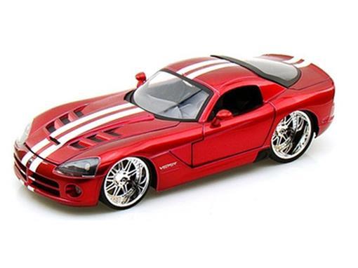 Dodge: Viper SRT10 (2008) - Vermelho - Bigtime Muscle - 1:24