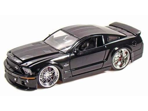 Ford: Shelby GT-500KR (2008) - Preto - 1:24