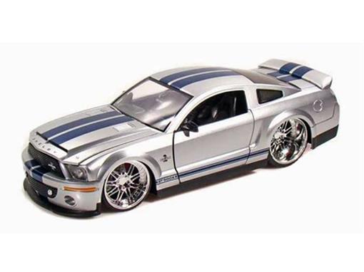 Ford: Shelby GT-500KR (2008) - Prata - 1:24