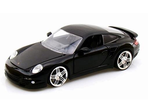 Porsche: 911 Turbo - Preto - 1:24