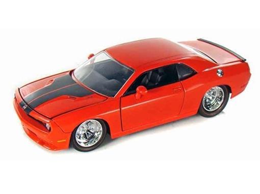 Dodge: Challenger SRT8 (2008) - Laranja 1:24