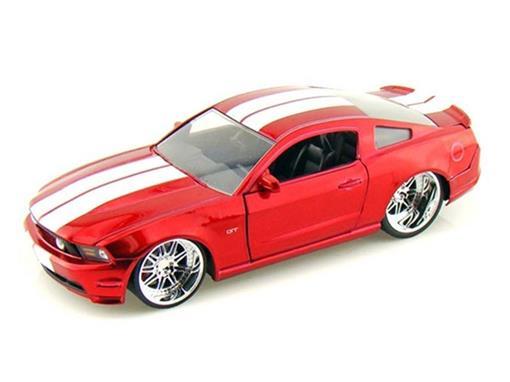 Ford: Mustang GT (2010) - Vermelho - 1:24
