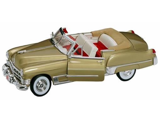 Cadillac: Coupe Deville (1949) - Dourado -  1:18