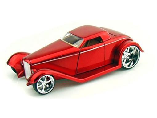 Ford: Coupe (1932) - Vermelho - 1:24