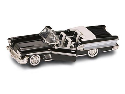 Pontiac: Bonneville (1958) - Preto - 1:18