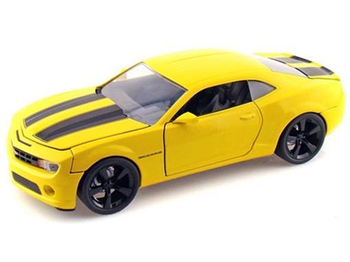 Chevrolet: Camaro SS (2010) - Amarelo - 1:24