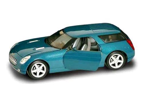 Chevrolet: Nomad Concept - Verde - 1:18