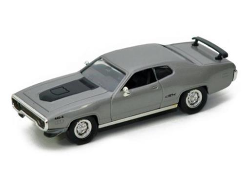 Plymouth: GTX (1971) - Cinza - 1:43