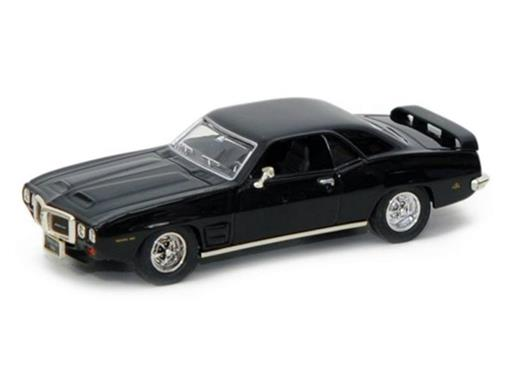 Pontiac: Firebird Trans Am (1969) - Preto - 1:43