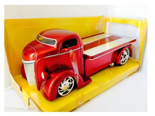 Ford: COE (1947) - Vermelho - Bigtime K. - 1:24