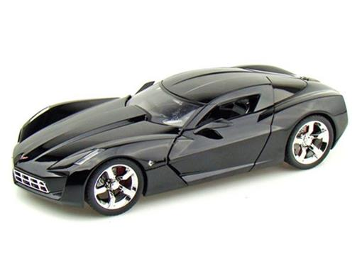 Chevy: Corvette Stingray Concept (2009) - Preto - 1:18