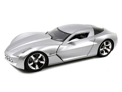 Chevrolet: Corvette Stingray C. (2009) - Prata - 1:18