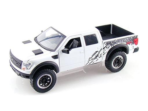 Ford: F150 SVT Raptor (2011) - Branco - 1:24