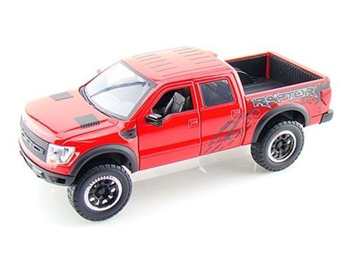 Ford: F150 SVT Raptor (2011) - Vermelho - 1:24