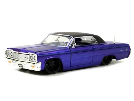 Chevrolet: Impala (1964) - Roxo - 1:24