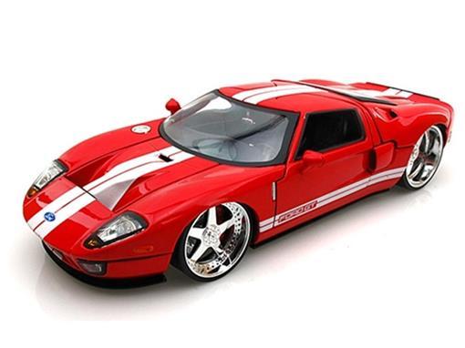 Ford: GT (2005) - Vermelho - Bigtime Kustoms - 1:24