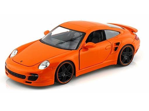 Porsche: 911 Turbo - Laranja - Bigtime Kustoms - 1:24