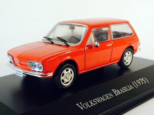 Volkswagen: Brasília (1975) - Vermelha - 1:43 - Ixo