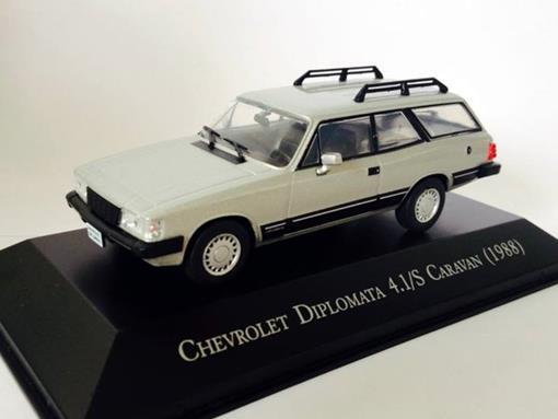 Chevrolet: Diplomata 4.1/S Caravan (1988) - Prata - 1:43