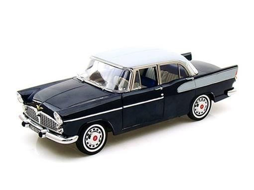 Simca: Beaulieu (1958) - Preto - 1:18