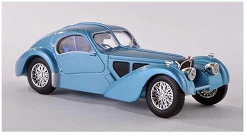 Bugatti: Type 57 SC Atlantic (1937) - Azul - 1:43