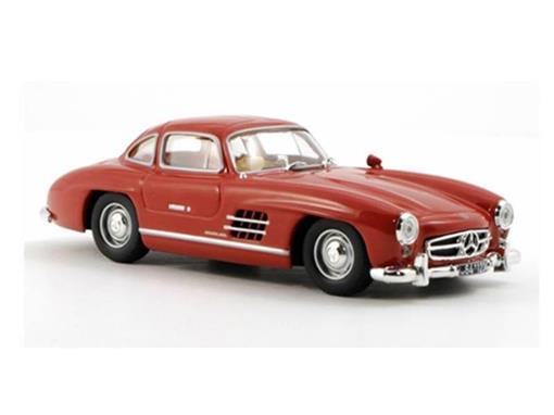 Mercedes Benz: 300 SL (1954) - Vermelha - 1:43