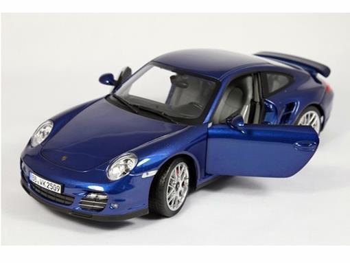 Porsche: 911 Turbo - Azul - 1:18