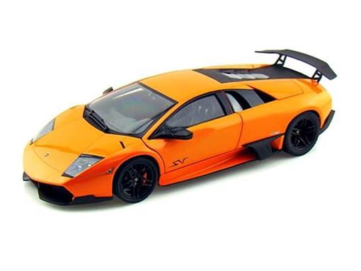 Lamborghini: Murcielago LP 670-4 SV - Laranja - 1:18