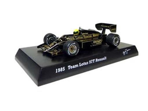 Lotus Renault: 97T (1985) - Ayrton Senna - 1:64