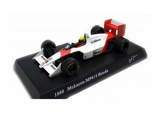 McLaren Honda: MP4/4 (1988) - Ayrton Senna - 1:64