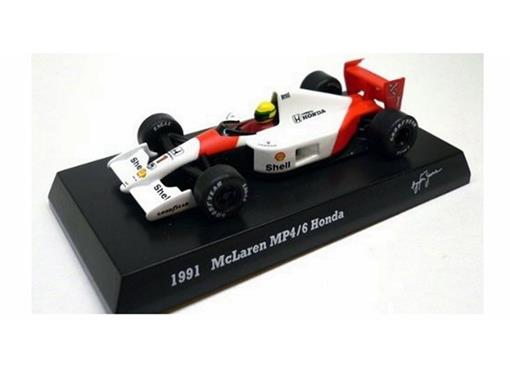 McLaren Honda: MP4/6 (1991) - Ayrton Senna - 1:64