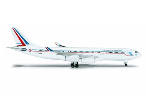 French Air Force: Airbus A340-200 - 1:500