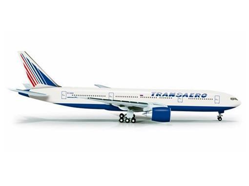 Transaero Airlines: Boeing 777-200 - 1:500
