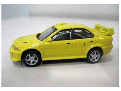 Mitsubishi: Lancer Evolution - Amarelo - 1:72