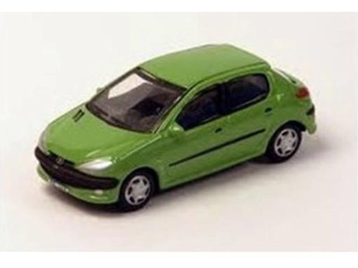 Peugeot: 206 - Verde - 1:72