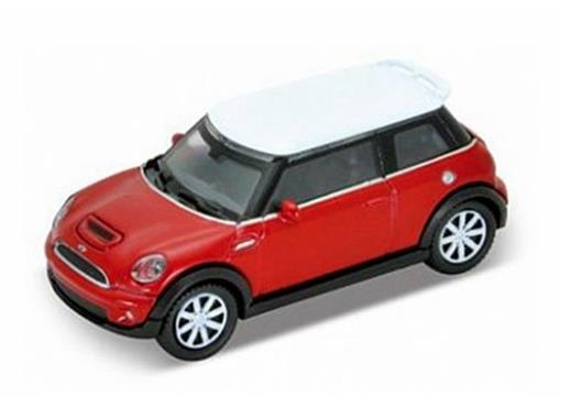 Mini Cooper: - Vermelho - 1:72