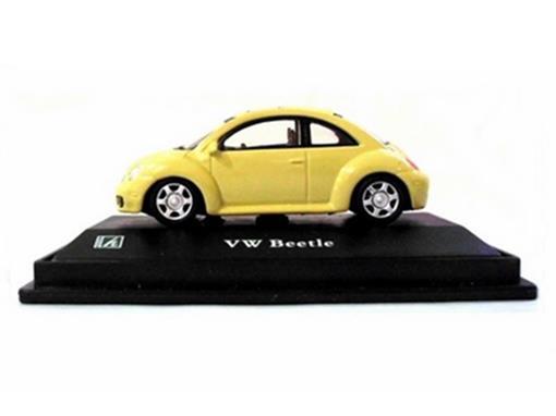 Volkswagen: New Beetle - Amarelo - 1:72