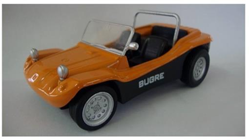 Bugre I (1972) - Laranja - 11 cm