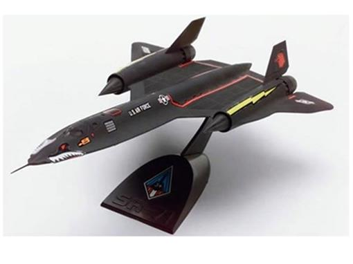 Lockheed: SR-71 Blackbird - Kit p/ Montar - 1:110